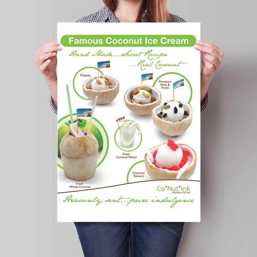 Thailand coconut ice cream Singapore