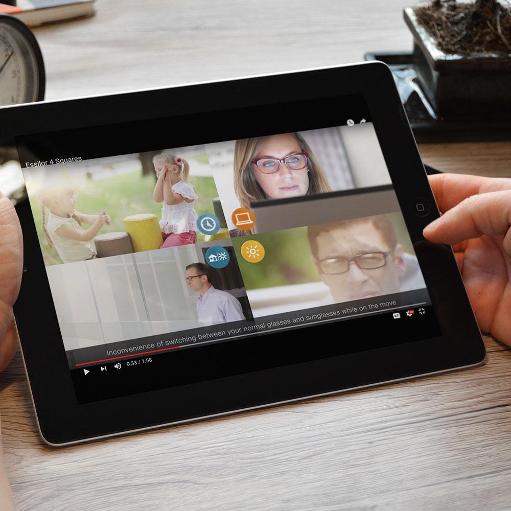 Videography - Essilor 4-square