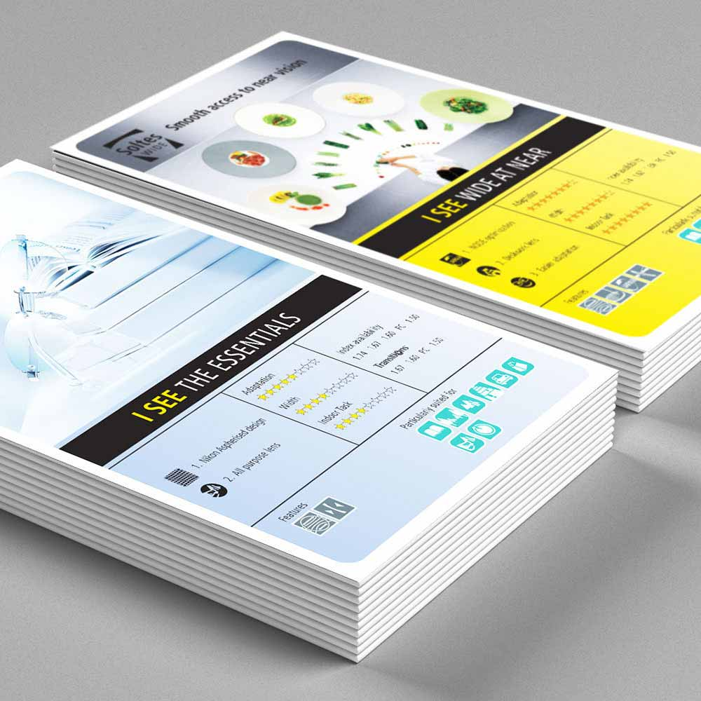 Z-Fold brochures design