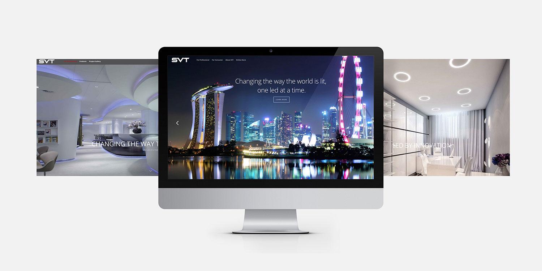 Web design - SVT & Lumi online store