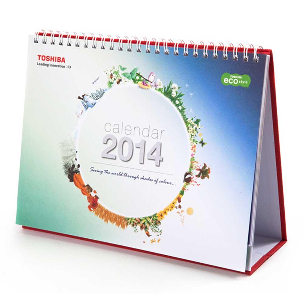 2014 Toshiba calendar design