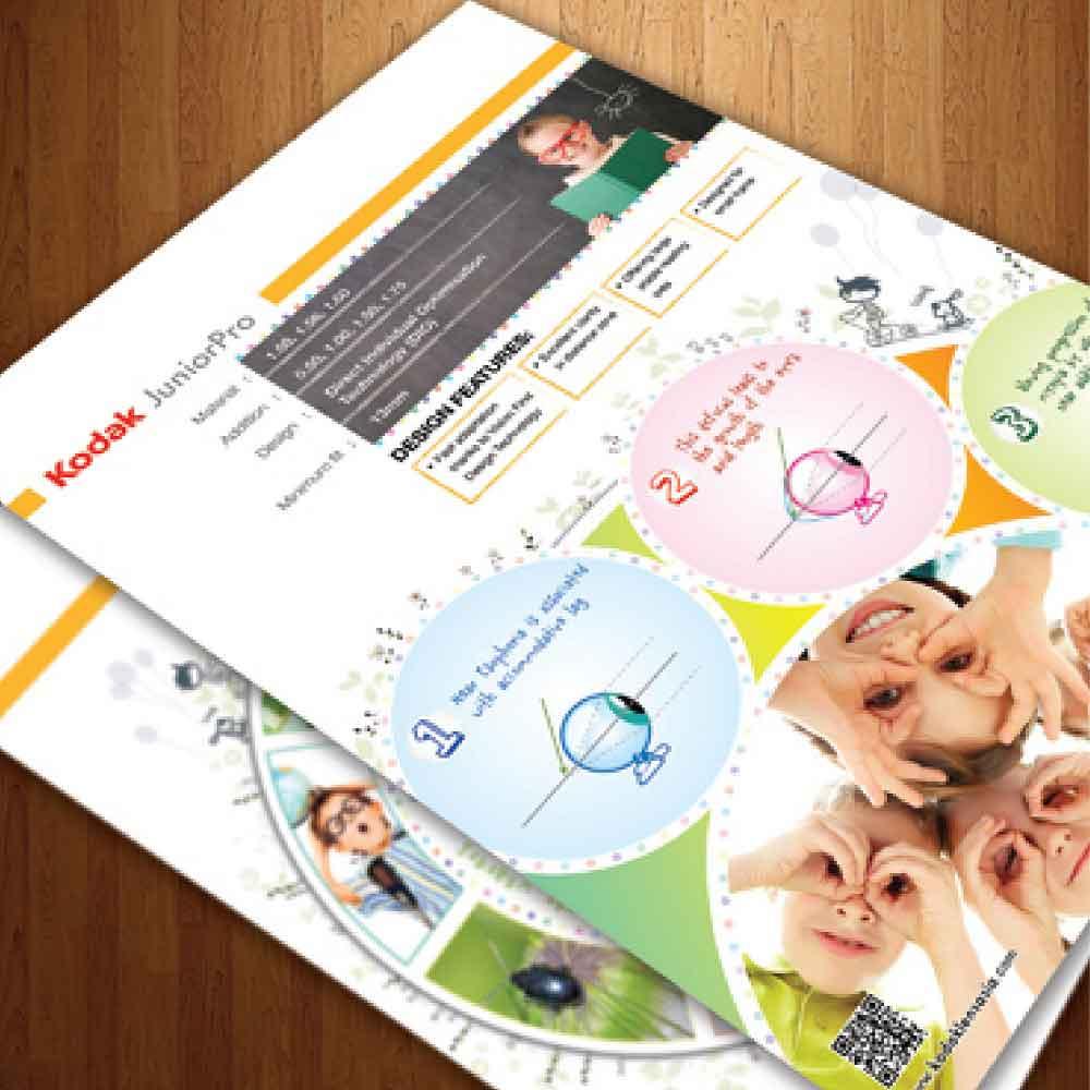 Kodak Lens Kids leaflet brochures